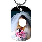 Bride  Child Want to be - Dog Tag (Two Sides)
