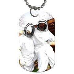 Honey Bee Production By Pamela Sue Goforth   Dog Tag (two Sides)   90a4y6skdeli   Www Artscow Com Front