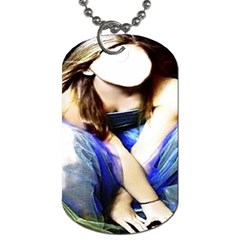 Rose By Pamela Sue Goforth   Dog Tag (two Sides)   M270q3ewzsda   Www Artscow Com Front