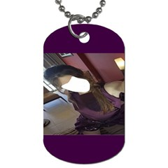 Selfie ! By Pamela Sue Goforth   Dog Tag (two Sides)   29s3zcd9k3ws   Www Artscow Com Front