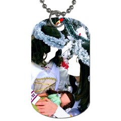 Selfie ! By Pamela Sue Goforth   Dog Tag (two Sides)   95r7dnycn0mh   Www Artscow Com Back