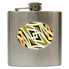 Art Print Tribal Style Pattern Hip Flask by dflcprints