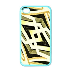 Art Print Tribal Style Pattern Apple Iphone 4 Case (color) by dflcprints