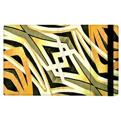 Art Print Tribal Style Pattern Apple Ipad 2 Flip Case by dflcprints