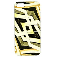 Art Print Tribal Style Pattern Apple Iphone 5 Hardshell Case With Stand by dflcprints