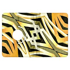 Art Print Tribal Style Pattern Kindle Fire Hdx Flip 360 Case by dflcprints