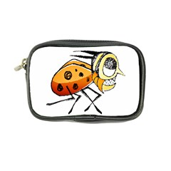 Funny Bug Running Hand Drawn Illustration Coin Purse by dflcprints