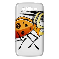 Funny Bug Running Hand Drawn Illustration Samsung Galaxy Mega 5 8 I9152 Hardshell Case  by dflcprints