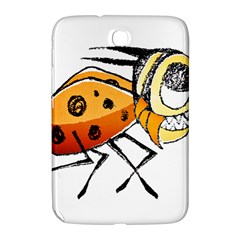 Funny Bug Running Hand Drawn Illustration Samsung Galaxy Note 8 0 N5100 Hardshell Case  by dflcprints