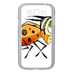 Funny Bug Running Hand Drawn Illustration Samsung Galaxy Grand Duos I9082 Case (white) by dflcprints