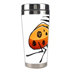 Funny Bug Running Hand Drawn Illustration Stainless Steel Travel Tumbler