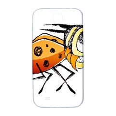 Funny Bug Running Hand Drawn Illustration Samsung Galaxy S4 I9500/i9505  Hardshell Back Case