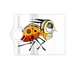 Funny Bug Running Hand Drawn Illustration Kindle Fire Hd (2013) Flip 360 Case by dflcprints