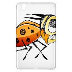 Funny Bug Running Hand Drawn Illustration Samsung Galaxy Tab Pro 8 4 Hardshell Case