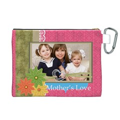 Mothers Day By Mom   Canvas Cosmetic Bag (xl)   W0s30bb34vmu   Www Artscow Com Back