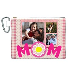 Mothers Day By Mom   Canvas Cosmetic Bag (xl)   Me9o4fcfqmjs   Www Artscow Com Front