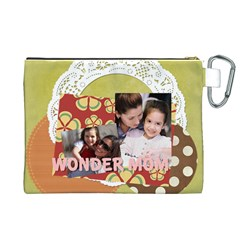 Mothers Day By Mom   Canvas Cosmetic Bag (xl)   Dyixwl9r1yii   Www Artscow Com Back