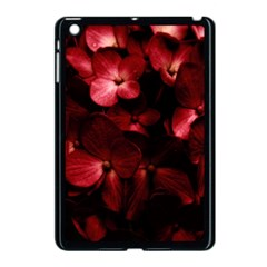 Red Flowers Bouquet In Black Background Photography Apple Ipad Mini Case (black) by dflcprints