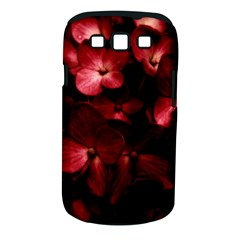 Red Flowers Bouquet In Black Background Photography Samsung Galaxy S Iii Classic Hardshell Case (pc+silicone) by dflcprints