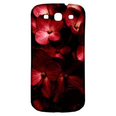Red Flowers Bouquet In Black Background Photography Samsung Galaxy S3 S Iii Classic Hardshell Back Case