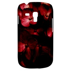 Red Flowers Bouquet In Black Background Photography Samsung Galaxy S3 Mini I8190 Hardshell Case