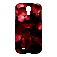 Red Flowers Bouquet In Black Background Photography Samsung Galaxy S4 I9500/i9505 Hardshell Case