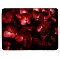 Red Flowers Bouquet In Black Background Photography Samsung Galaxy Tab 7  P1000 Flip Case by dflcprints