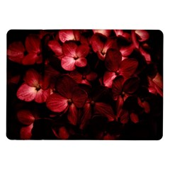 Red Flowers Bouquet In Black Background Photography Samsung Galaxy Tab 10 1  P7500 Flip Case by dflcprints