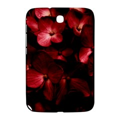 Red Flowers Bouquet In Black Background Photography Samsung Galaxy Note 8 0 N5100 Hardshell Case  by dflcprints