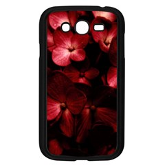 Red Flowers Bouquet In Black Background Photography Samsung Galaxy Grand Duos I9082 Case (black) by dflcprints