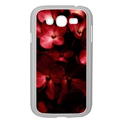 Red Flowers Bouquet In Black Background Photography Samsung Galaxy Grand Duos I9082 Case (white) by dflcprints