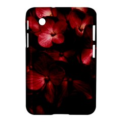 Red Flowers Bouquet In Black Background Photography Samsung Galaxy Tab 2 (7 ) P3100 Hardshell Case  by dflcprints