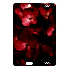 Red Flowers Bouquet In Black Background Photography Kindle Fire Hd (2013) Hardshell Case by dflcprints