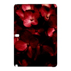 Red Flowers Bouquet In Black Background Photography Samsung Galaxy Tab Pro 12 2 Hardshell Case by dflcprints