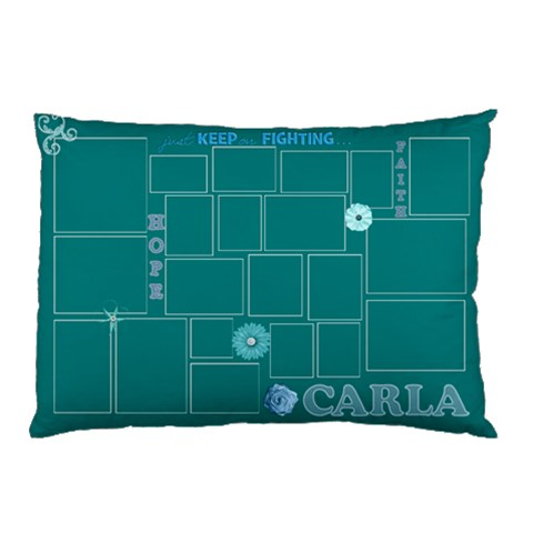 Carla Pillow By Starla Smith   Pillow Case   Uiiy4bcabsel   Www Artscow Com 26.62 x18.9 Pillow Case