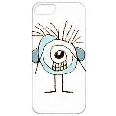 Cute Weird Caricature Illustration Apple Iphone 5 Classic Hardshell Case by dflcprints
