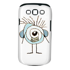 Cute Weird Caricature Illustration Samsung Galaxy S Iii Classic Hardshell Case (pc+silicone) by dflcprints