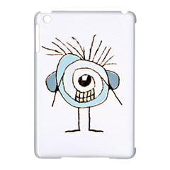 Cute Weird Caricature Illustration Apple Ipad Mini Hardshell Case (compatible With Smart Cover) by dflcprints