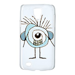 Cute Weird Caricature Illustration Samsung Galaxy S4 Active (i9295) Hardshell Case by dflcprints