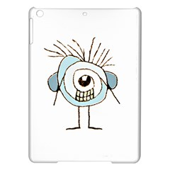 Cute Weird Caricature Illustration Apple Ipad Air Hardshell Case by dflcprints