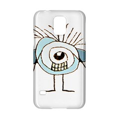 Cute Weird Caricature Illustration Samsung Galaxy S5 Hardshell Case  by dflcprints