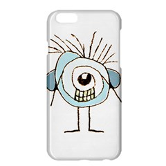 Cute Weird Caricature Illustration Apple Iphone 6 Plus Hardshell Case by dflcprints