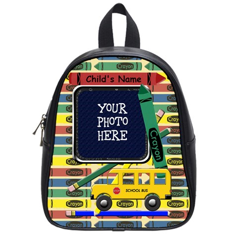 School Backpack Small By Chere s Creations   School Bag (small)   Rb3sf7812gfm   Www Artscow Com Front