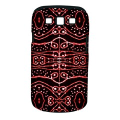 Tribal Ornate Geometric Pattern Samsung Galaxy S Iii Classic Hardshell Case (pc+silicone) by dflcprints