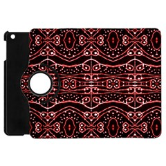 Tribal Ornate Geometric Pattern Apple Ipad Mini Flip 360 Case by dflcprints