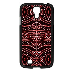 Tribal Ornate Geometric Pattern Samsung Galaxy S4 I9500/ I9505 Case (black) by dflcprints