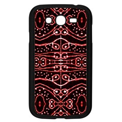 Tribal Ornate Geometric Pattern Samsung Galaxy Grand Duos I9082 Case (black) by dflcprints