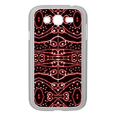 Tribal Ornate Geometric Pattern Samsung Galaxy Grand Duos I9082 Case (white) by dflcprints