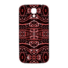 Tribal Ornate Geometric Pattern Samsung Galaxy S4 I9500/i9505  Hardshell Back Case by dflcprints