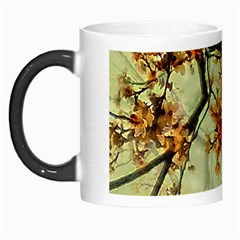 Floral Motif Print Pattern Collage Morph Mug by dflcprints